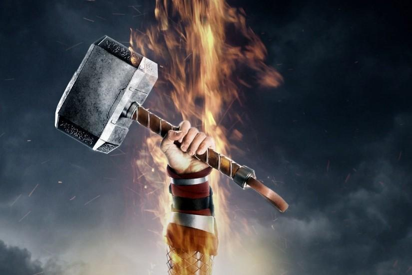 Thor Hammer HD Desktop Backgrounds 4839 - HD Wallpapers Site