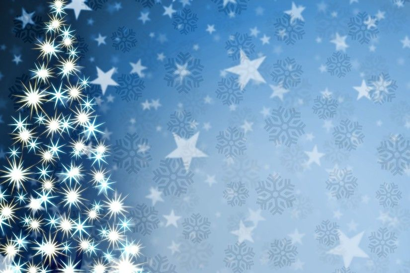 1920x1080 Wallpaper christmas tree, star, pattern, background
