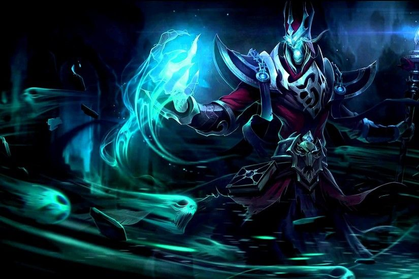 Classic Karthus Splash Art and Load Screen Preview [5/27 PBE Update]