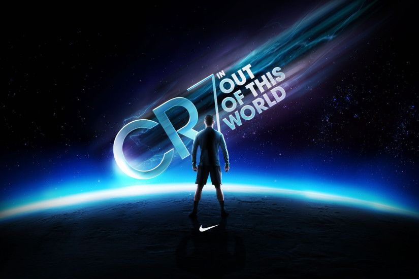 "CR7: ""Out of this world"" Nike Wallpaper"