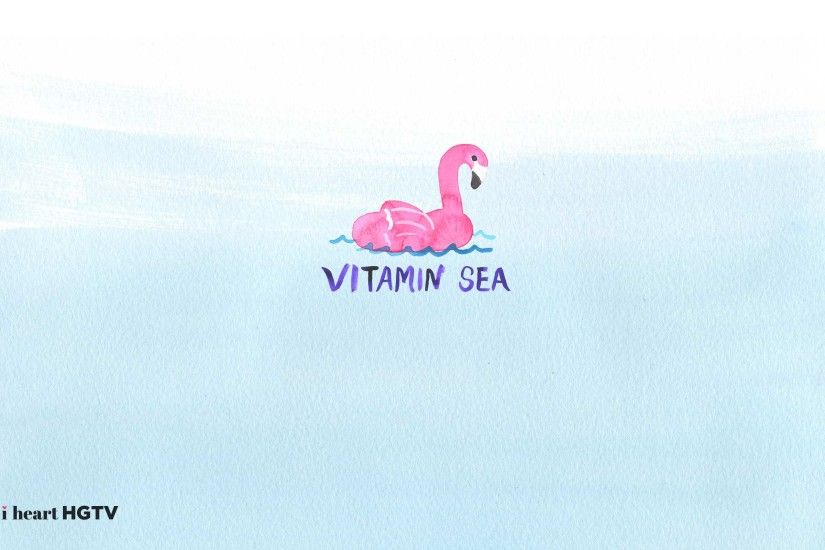 Download the VITAMIN SEA wallpaper for your desktop.