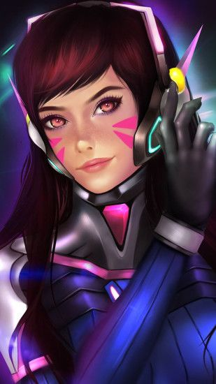 DVa Overwatch hd wallpapers 1080p