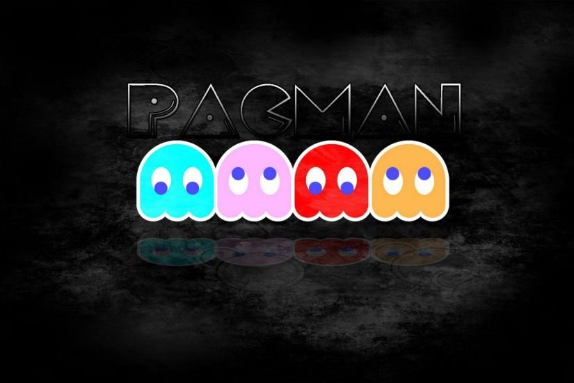 HD Pacman Wallpaper.