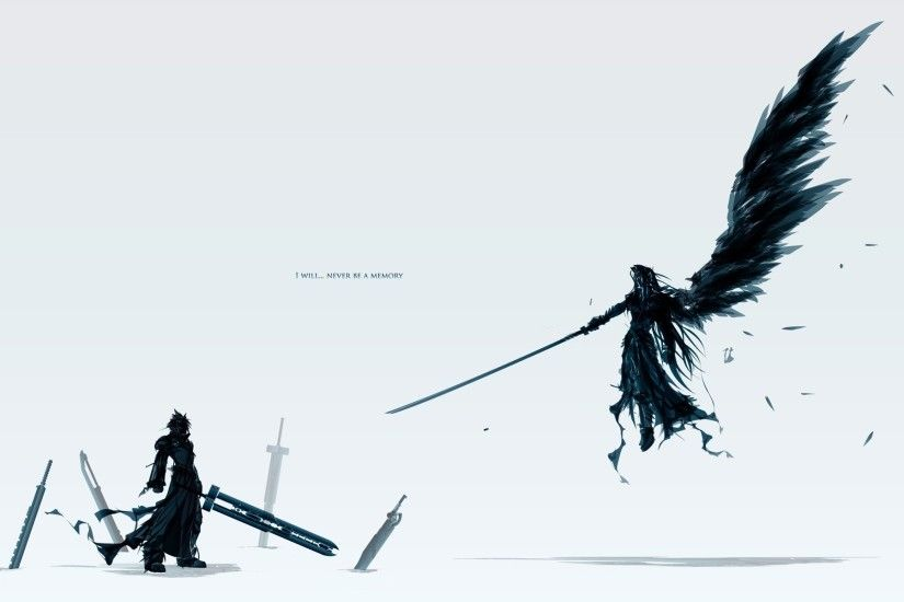Final Fantasy Cloud Vs Sephiroth