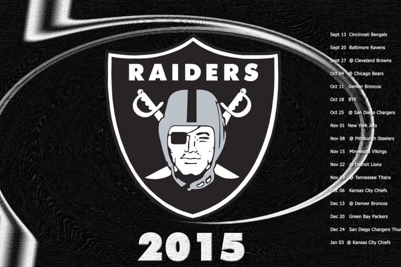 Oakland Raiders Wallpaper 2015