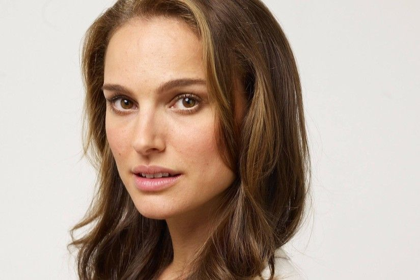 Wallpaper Natalie portman, Brunette, Brown-eyed, Hair HD, Picture, Image