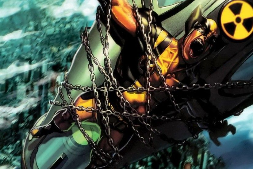 comics X-Men Wolverine Marvel Comics / Wallpaper