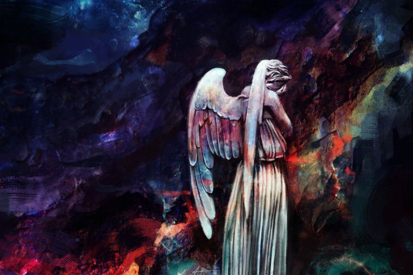 Weeping Angels wallpaper | Articles | Doctor Who