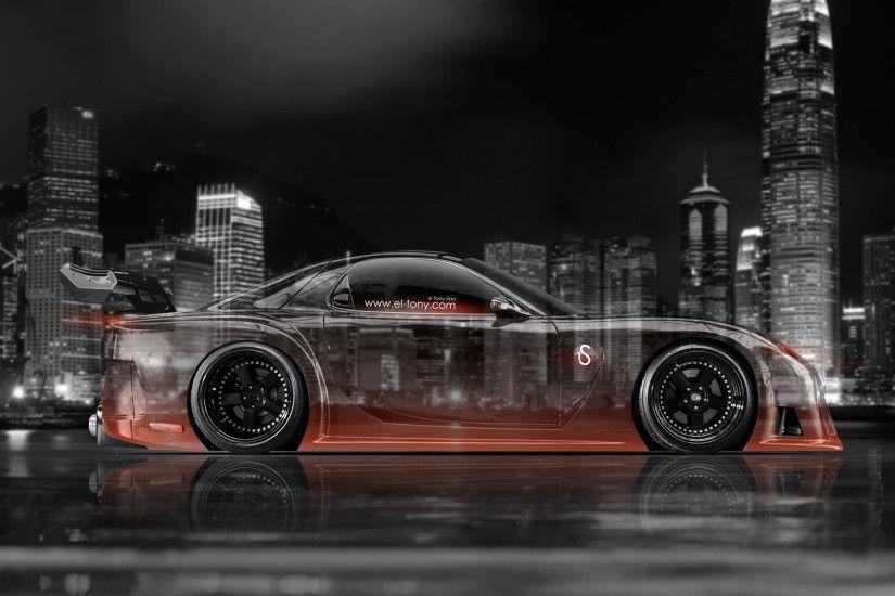 Mazda RX7 VeilSide JDM Side Crystal City