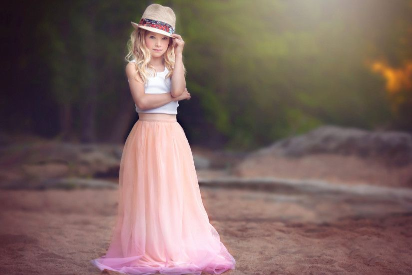 Little Girl Stylish HD Wallpapers