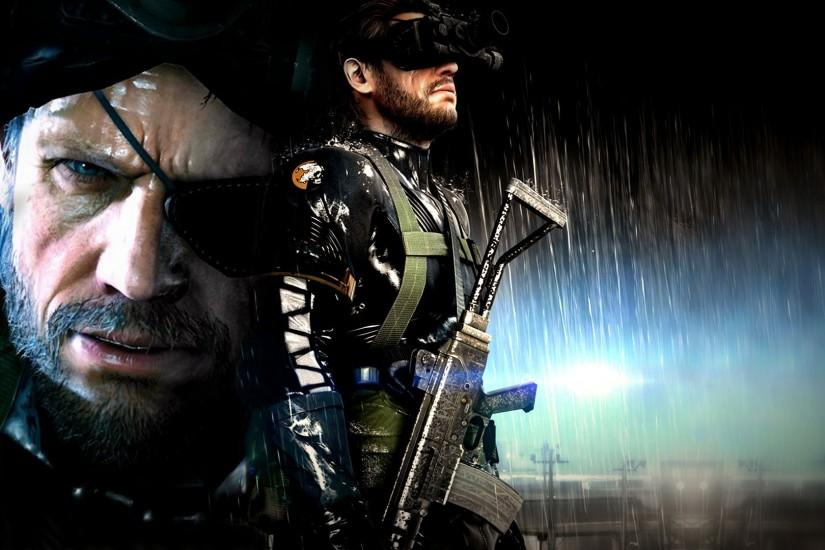 Metal Gear Solid, Artwork, Video Games, Metal Gear Solid V: Ground Zeroes, Big  Boss Wallpaper HD