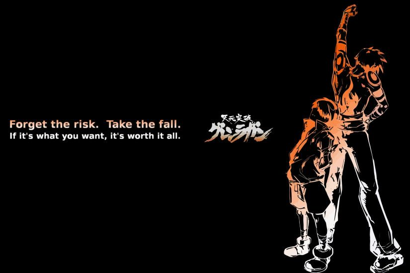 Gurren Lagann Wallpaper Quote images Hdimagelib