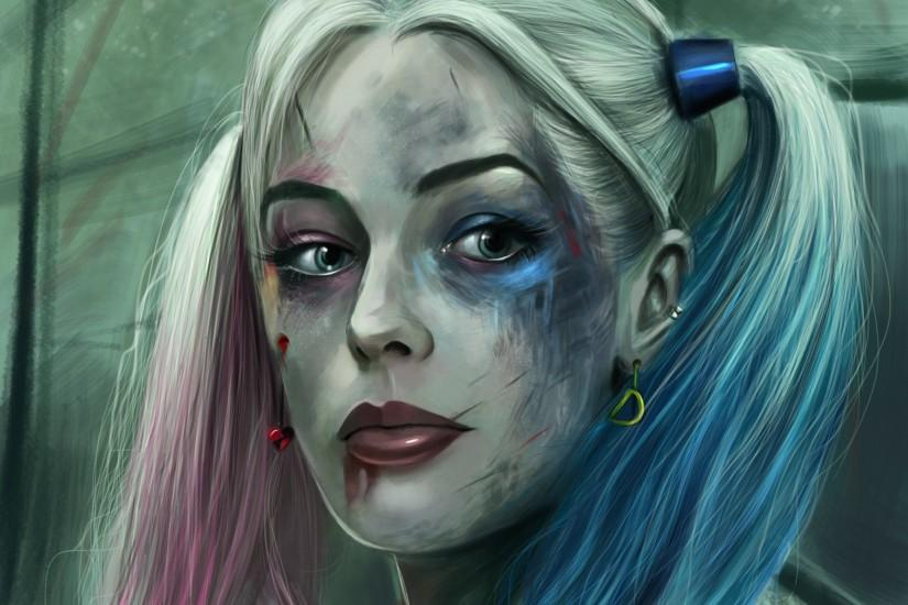 harley quinn wallpaper 2474x2054 download free