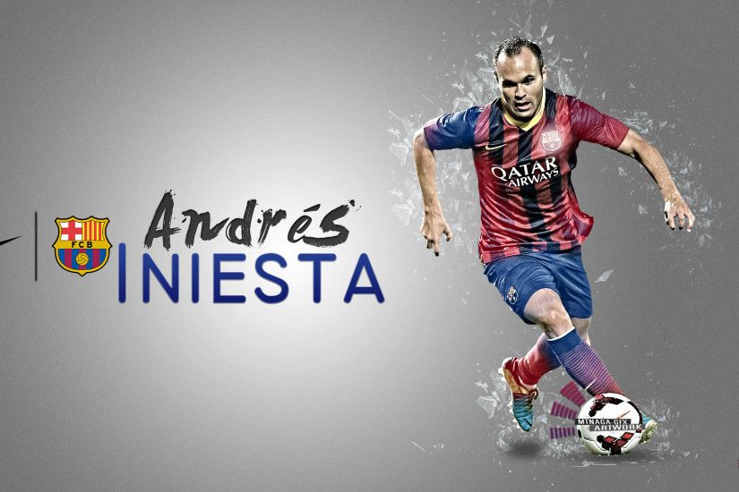 """Andres Iniesta - El Caballero Pálido""Hope You Like It :)"