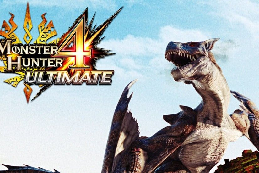 Take A Peek At The New Free Monster Hunter 4 Ultimate Theme For 3DS | The  Games Cabin