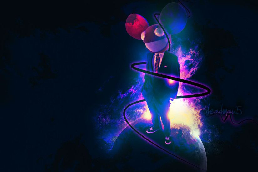 ... Download Wallpaper 1920x1080 Deadmau5, Graphics, Mouse, Light .