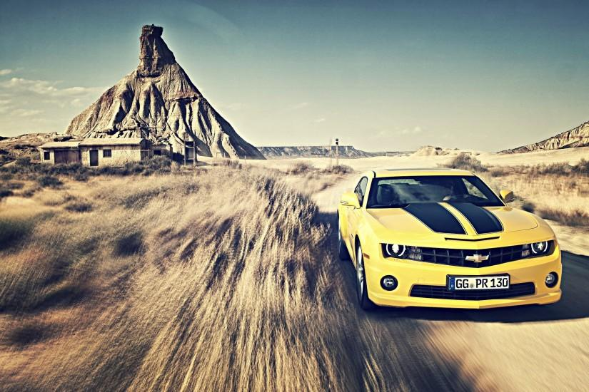 Chevrolet Camaro Wallpaper Yellow - image #8