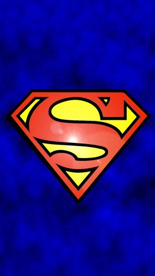 Movies Superman Logo Blue Cool Funny Comics