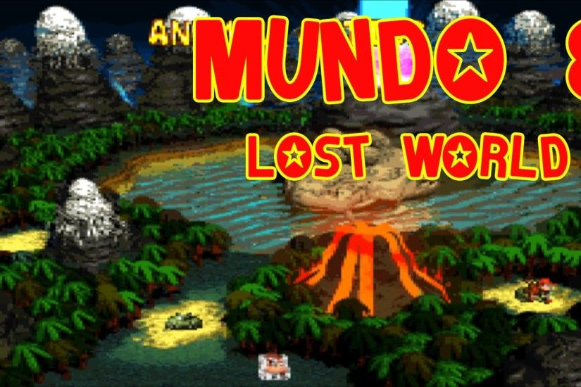Donkey Kong Country 2: Diddy's Kong Quest todos os bonus e DK´s (Mundo 8)