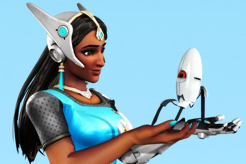 Symmetra With Sentry Turret