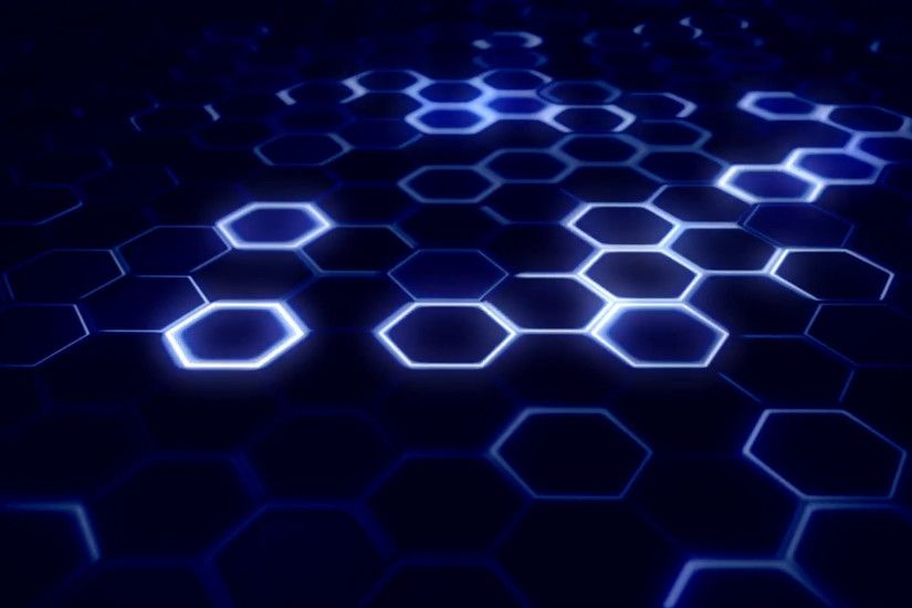 Looped Hexagon Hi - Tech Background visual for different projects Motion  Background - VideoBlocks