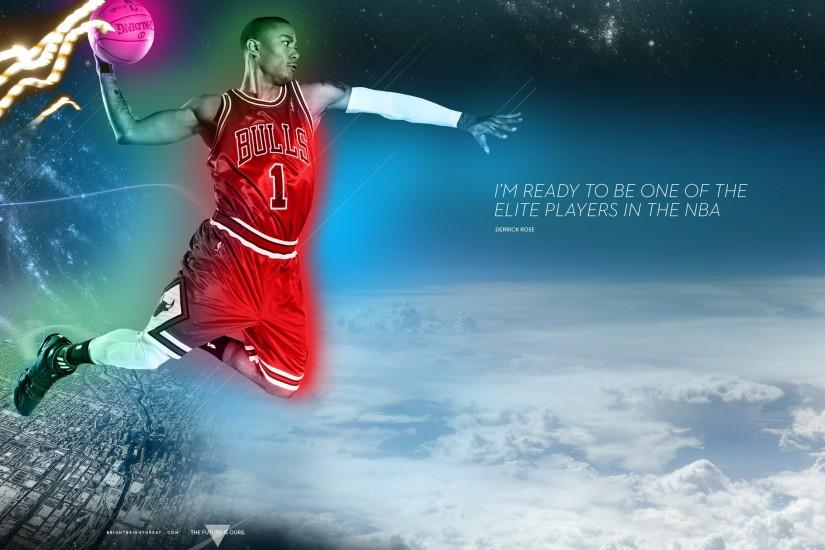 Chicago Bulls Superstud Derrick Rose iPhone iPad & Desktop Wallpaper  Download