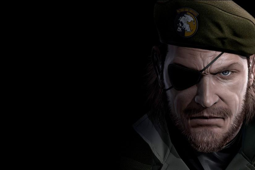 Big Boss Metal Gear Wallpaper