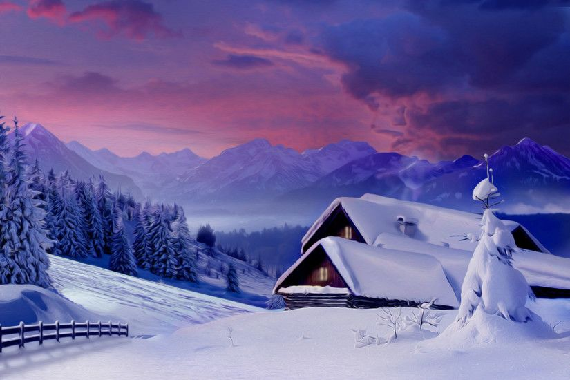 winter snow scene pictures | Snow Wallpapers | Desktop Wallpapers - Page 10