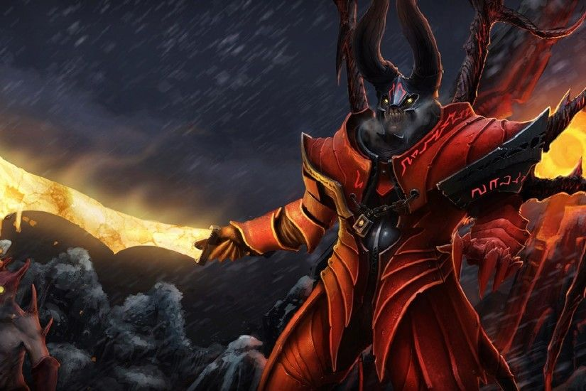 Elegant Dota2 Doom Hd Desktop Wallpapers