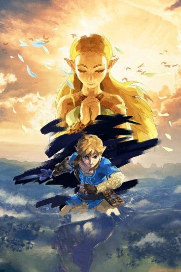 The Legend of Zelda : Breath of the Wild - Full HD art no logo,