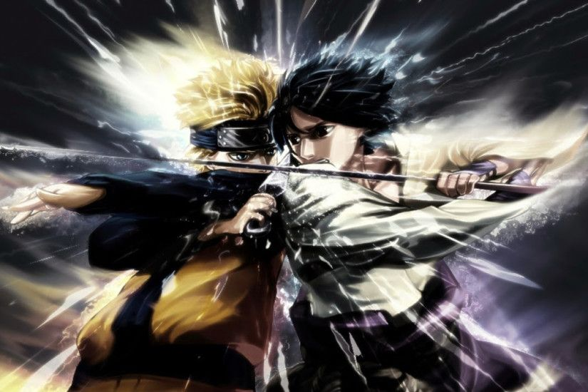 1920x1080 Naruto vs Sasuke Fighting HD desktop wallpaper : Widescreen  Imagenes De Naruto Y Sasuke Wallpapers