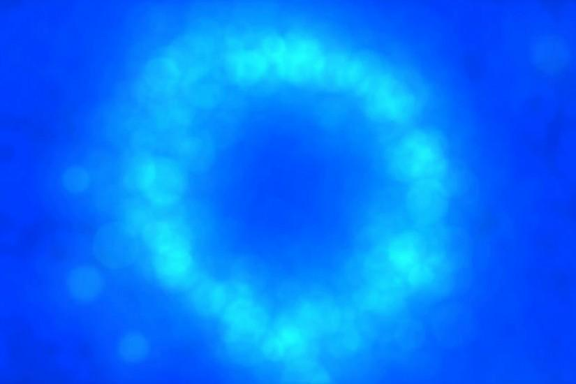 Particle Circle Background Animation - Loop Blue Motion Background -  VideoBlocks