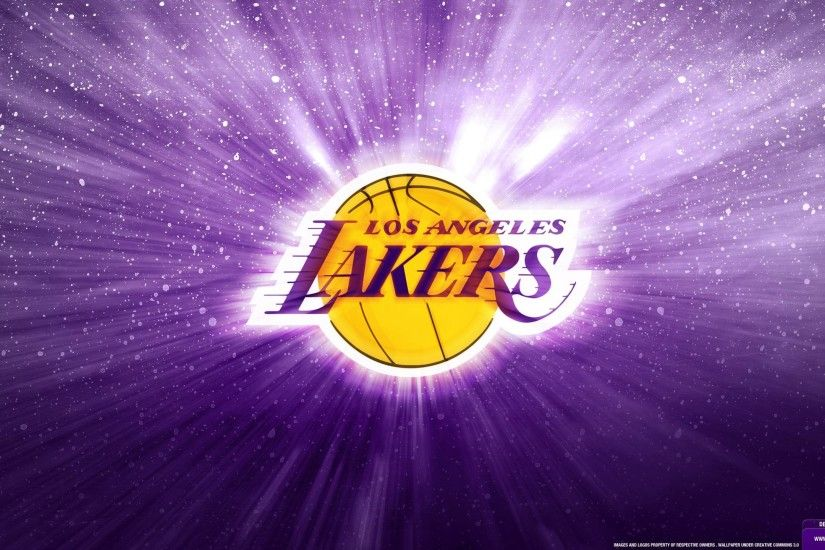 Los Angeles Lakers Logo Wallpaper | Posterizes | NBA Wallpapers .
