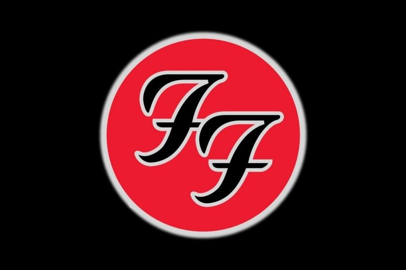 Preview wallpaper foo fighters, symbol, icon, cicle, background 1920x1080