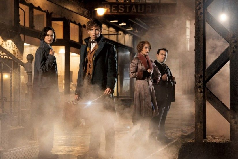 Preview wallpaper fantastic beasts and where to find them, eddie redmayne,  katherine waterston,