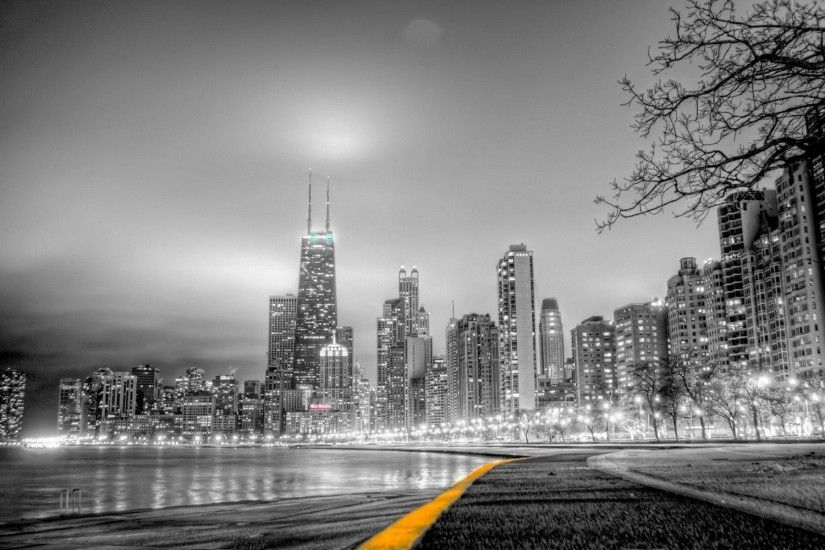 The Images of Cityscapes Skylines Chicago Buildings 1920x1200 HD .