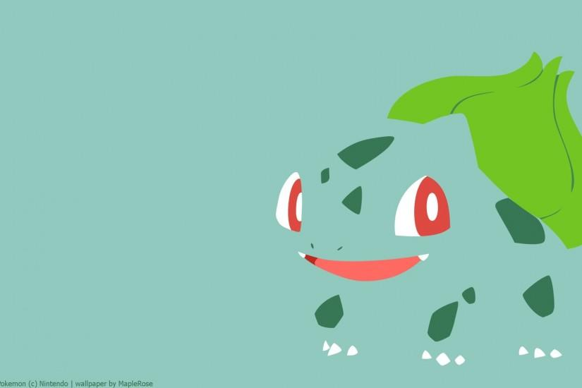 Preview wallpaper bulbasaur, pokemon, drawing 1920x1080