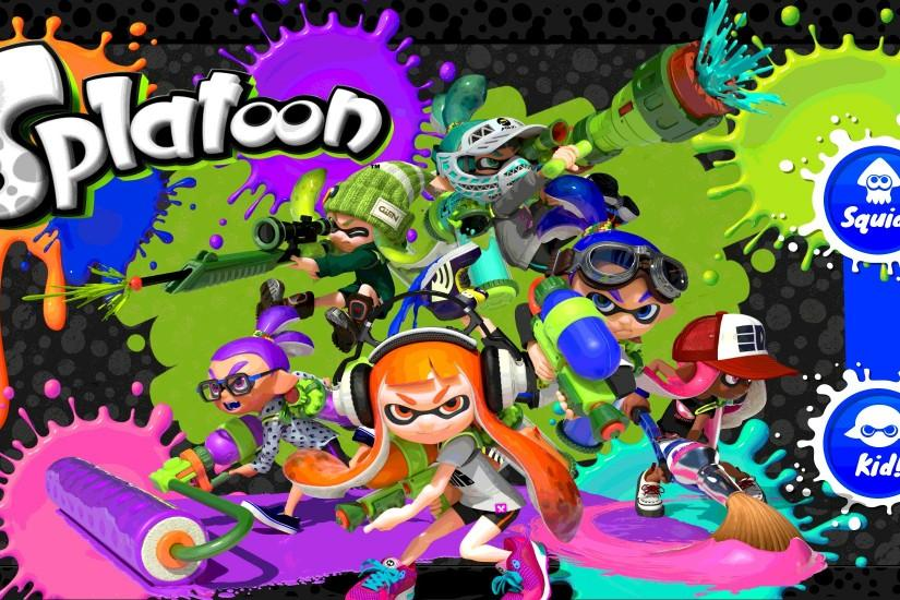 free splatoon wallpaper 2000x1100 meizu