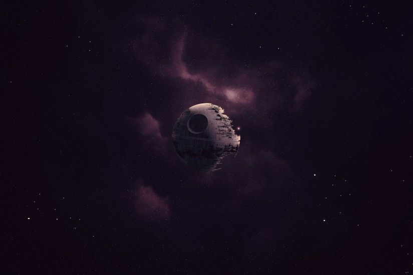 Star Wars, Death Star, Artwork, Space, Purple Wallpapers HD / Desktop and  Mobile Backgrounds