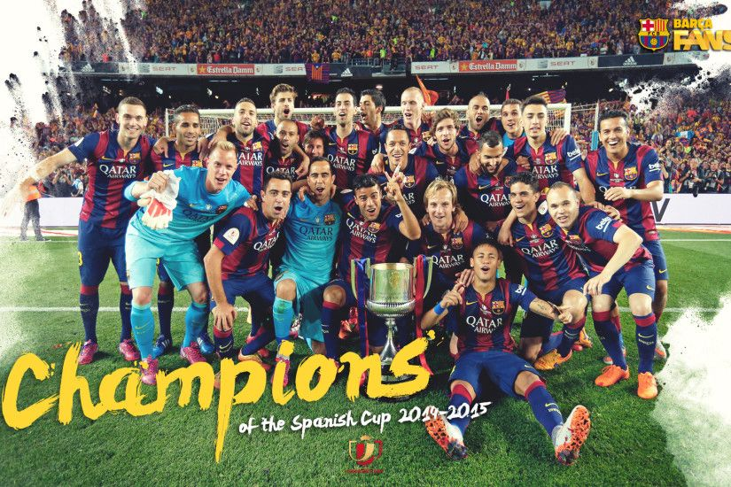Description: Download FC Barcelona 2015 Champions League ...