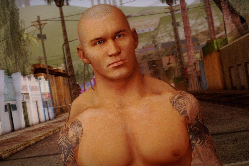 Randy Orton from Smackdown Vs Raw for GTA San Andreas