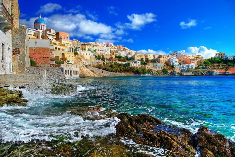 Greece Wallpaper - Europe Wallpaper (34352469) - Fanpop