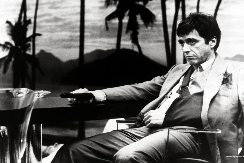 Al Pacino in Scarface directed by Brian De Palma, 1983