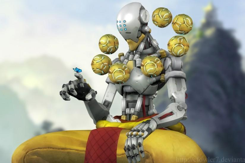 Overwatch - Zenyatta by cfowler7