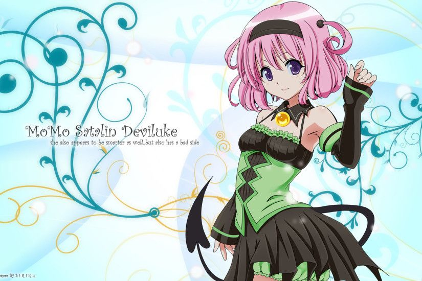 Anime - To Love-Ru Momo Velia Deviluke Wallpaper