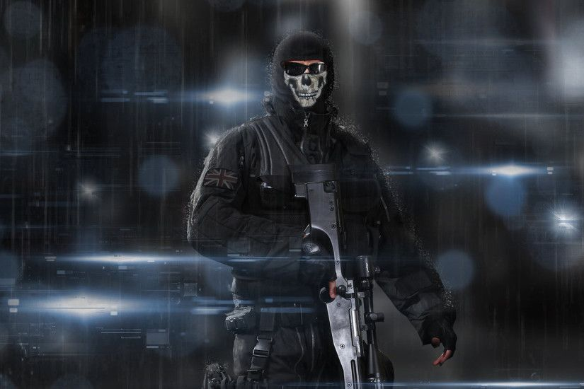 Wallpaper Call of Duty Ghosts - WallpaperSafari ...