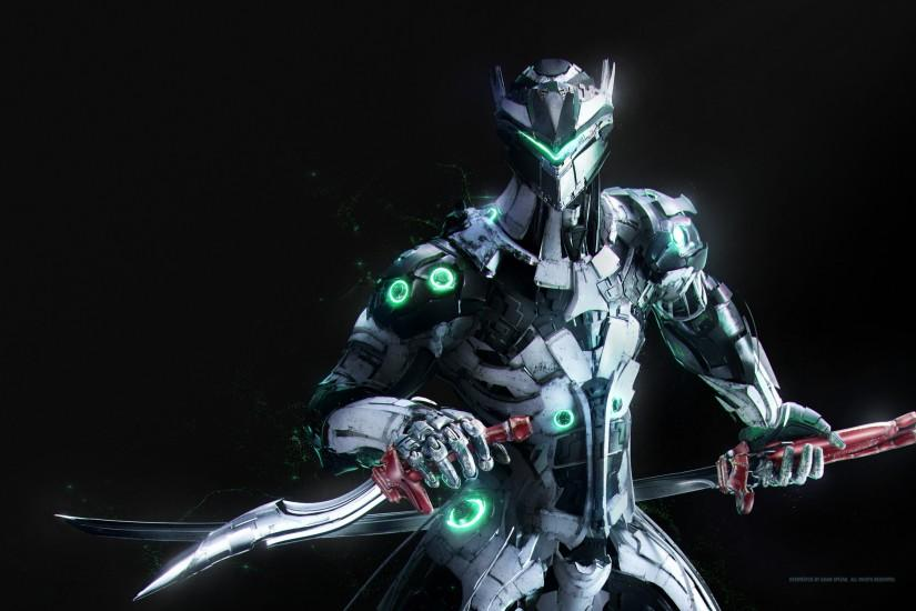 Genji, Overwatch, HD