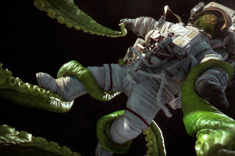 The Suit, Tomas Kral, Tentacles, Cosmonaut