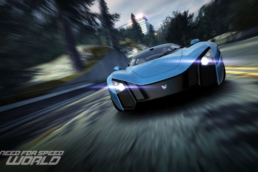 Need for speed world Marussia B2 Wallpaper - http://www.gbwallpapers.