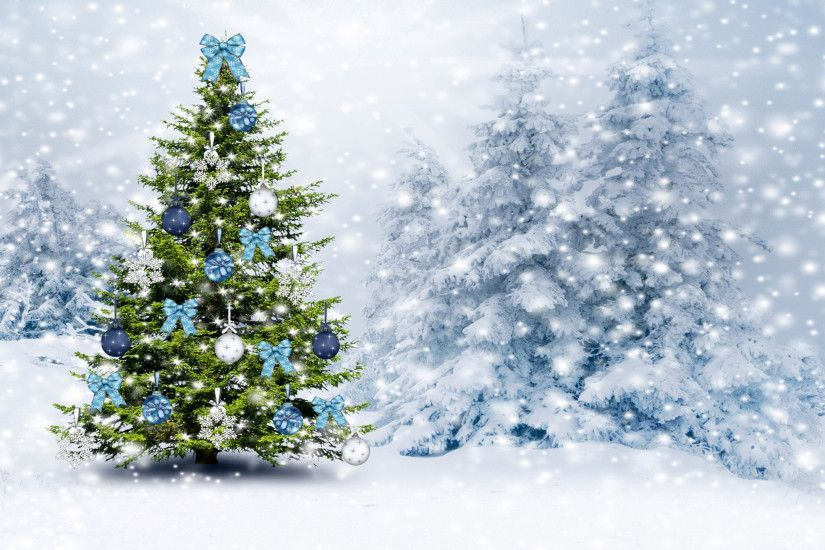 White Christmas Tree Wallpaper (19)